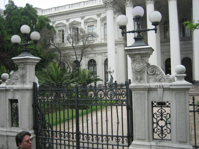 Presidential Palace Santiago