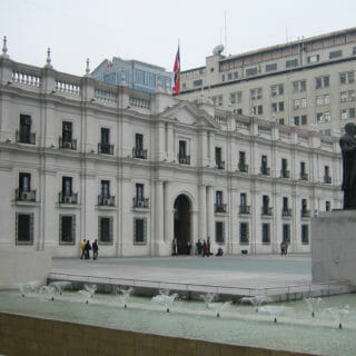 Presidential Palace in Santiago