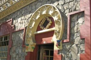 architectural embellishments in Santa Lucia