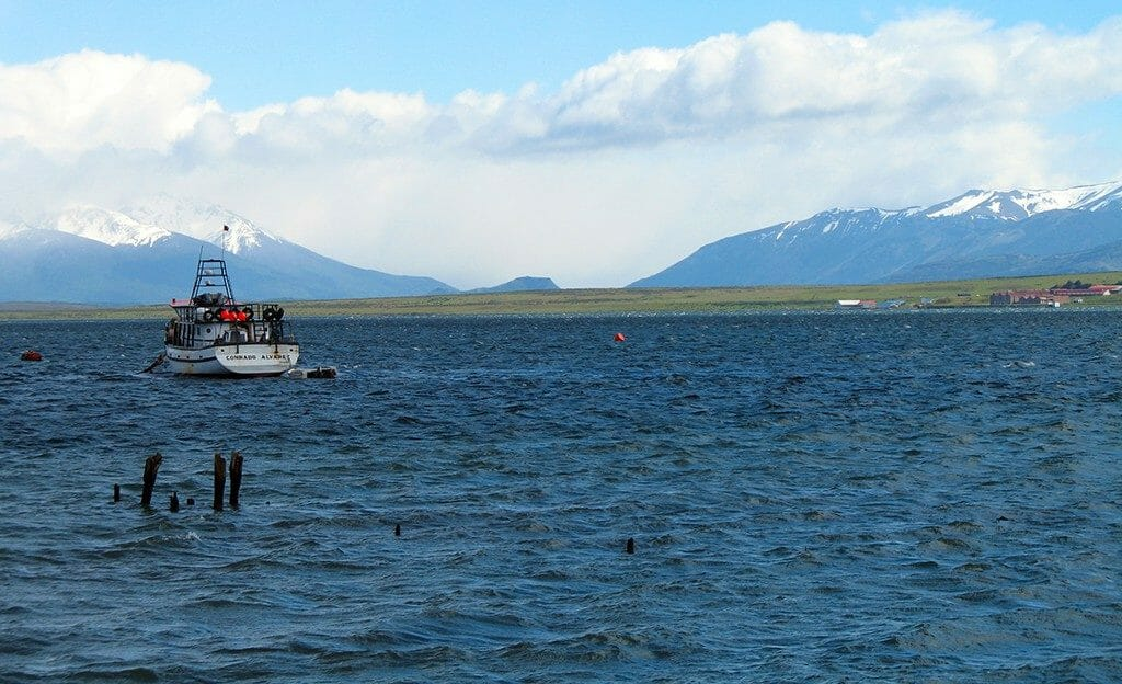 Puerto Natales fjord