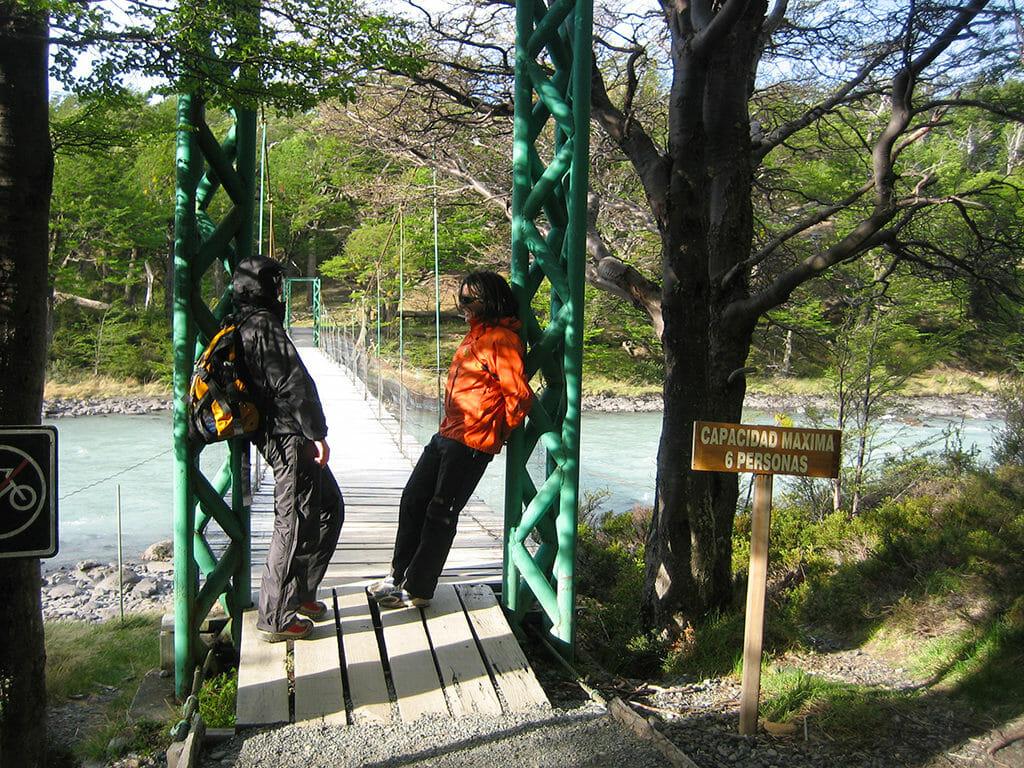 Bridge to Lago Grey