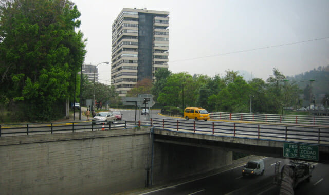 Gray day for a tour of Santiago