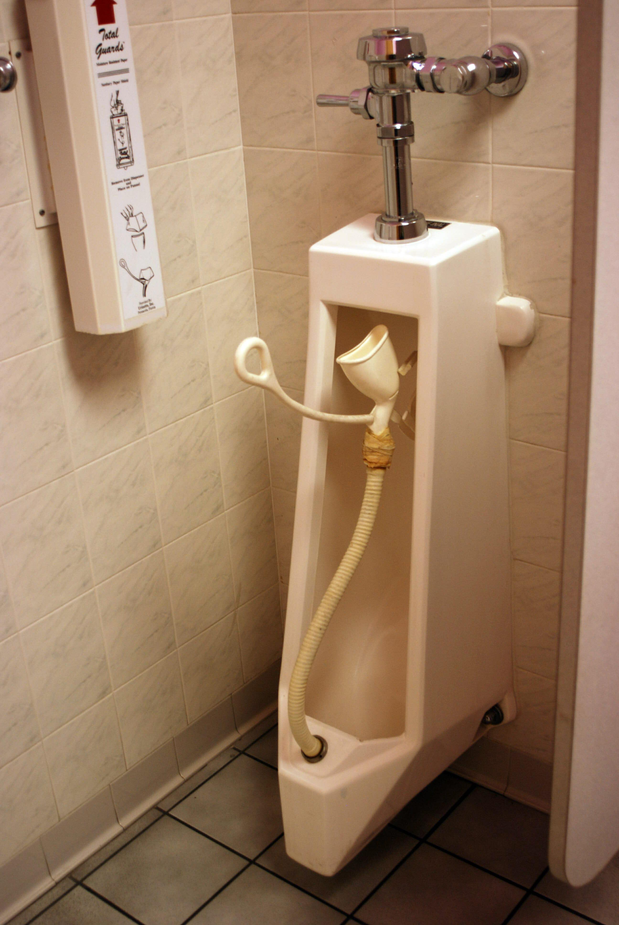 womans urinal Florida