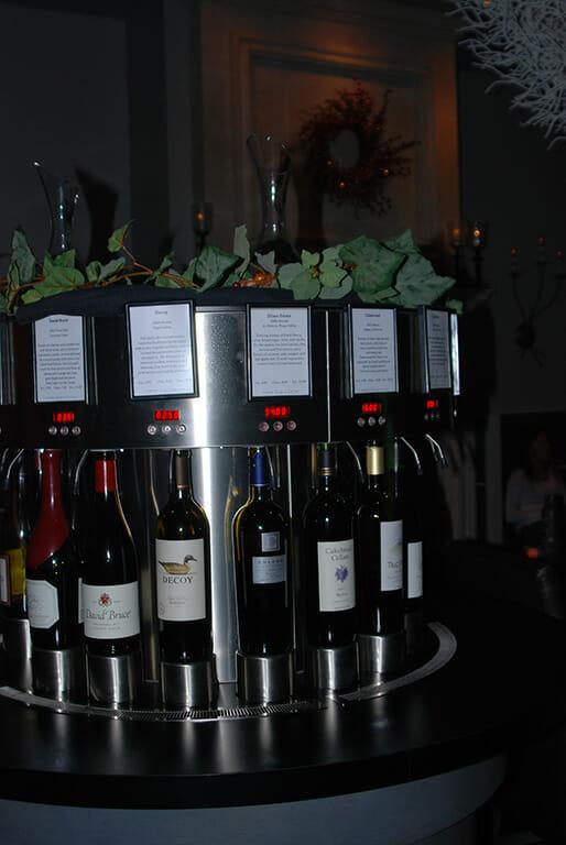 Wine-o-matic at Cuvee Wine & Bistro