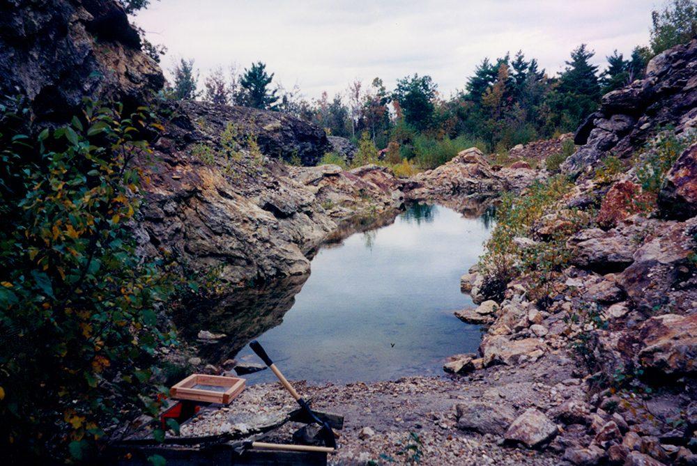 Poland Maine quarry rockhounding