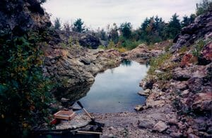 Poland Maine quarry rockhounding
