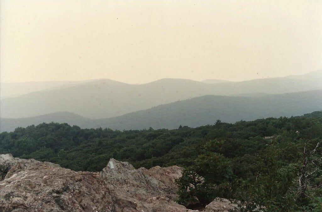 Appalachian Trail on Bearfence Mountain