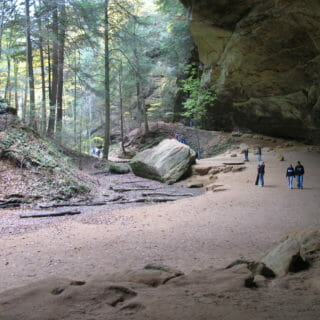 Hocking Hills: Full of Hikers