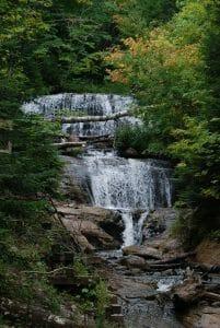 Sable Falls at Pictured Rocks National Lakeshore