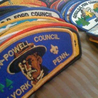 Collecting Boy Scout Council Shoulder Patches