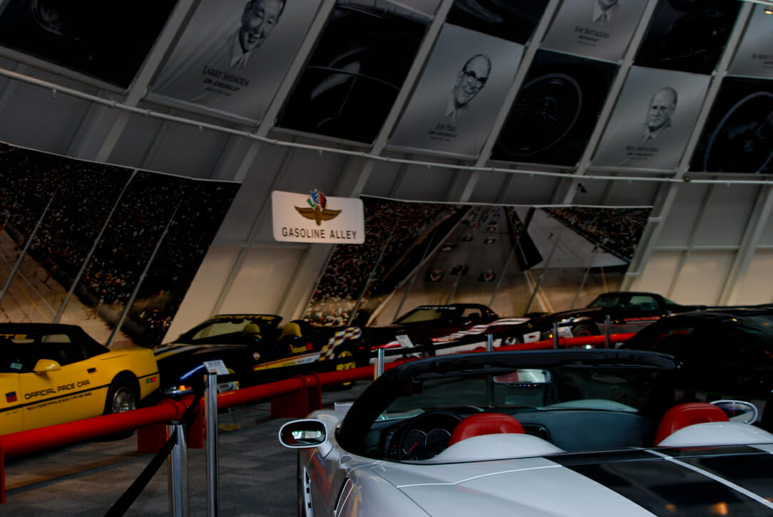 Hall of Fame at the National Corvette Museum