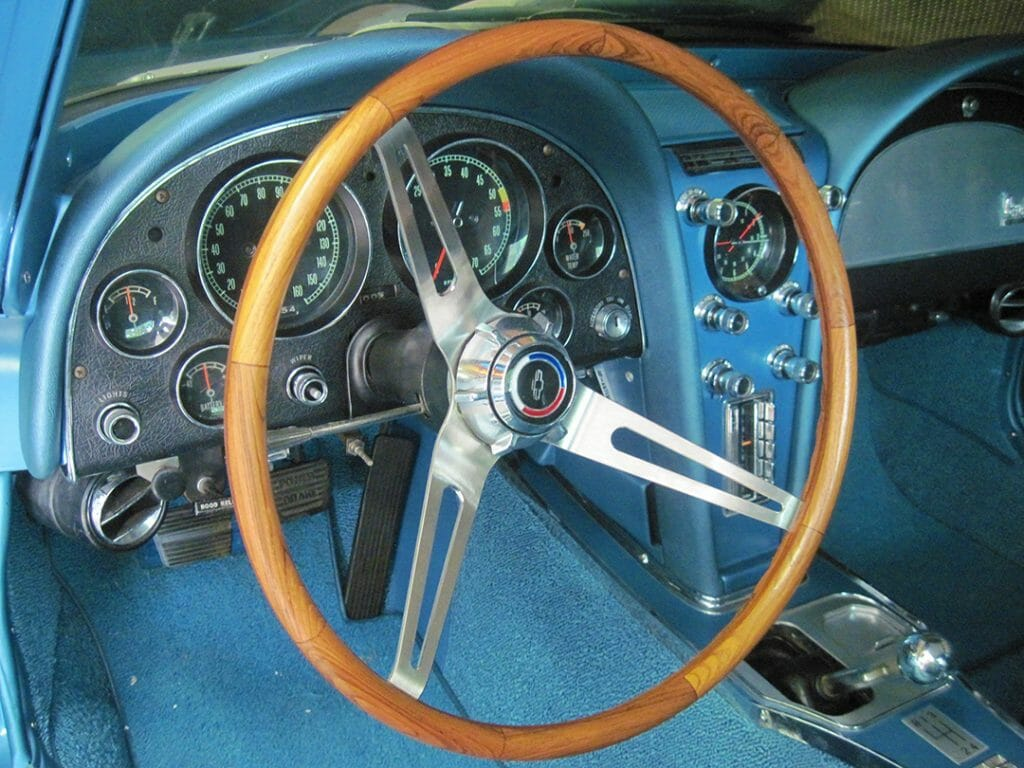 Dash of my Corvette Stingray