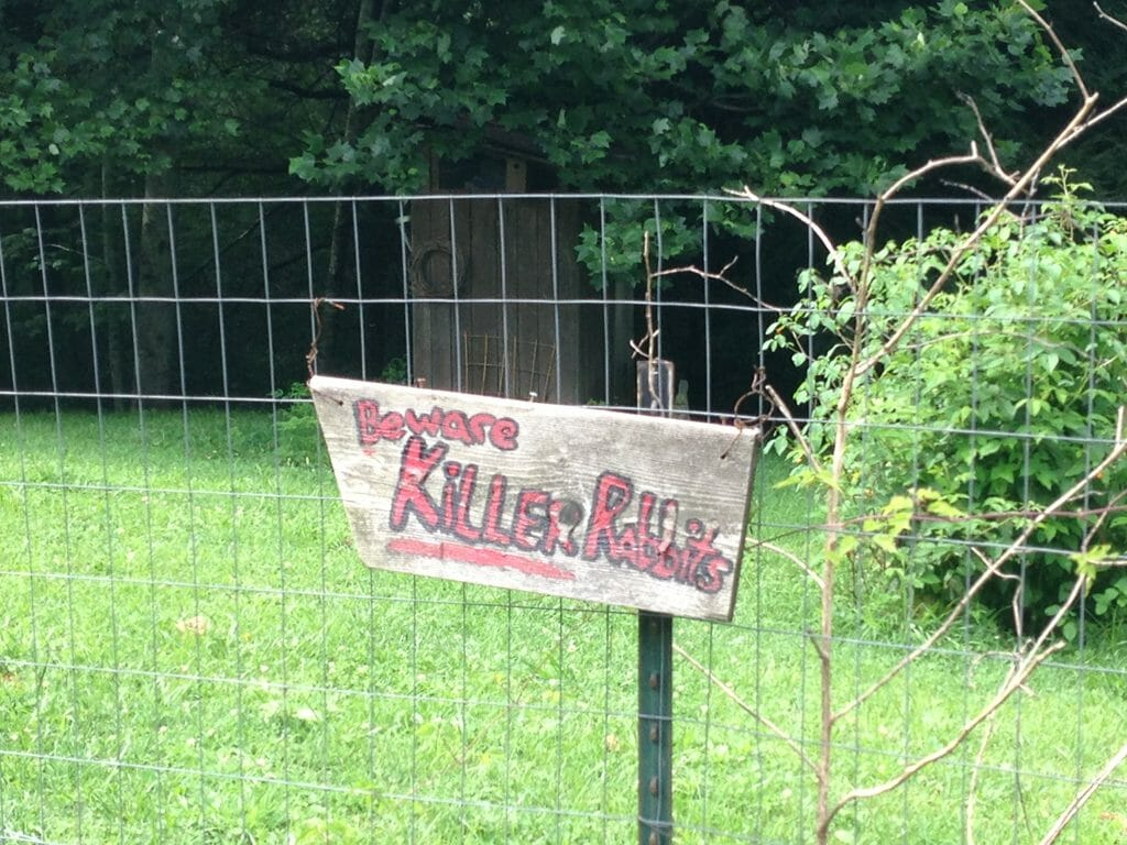 Beware of Killer Rabbits