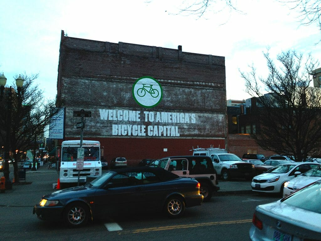 Americas Bicycle Capital mural