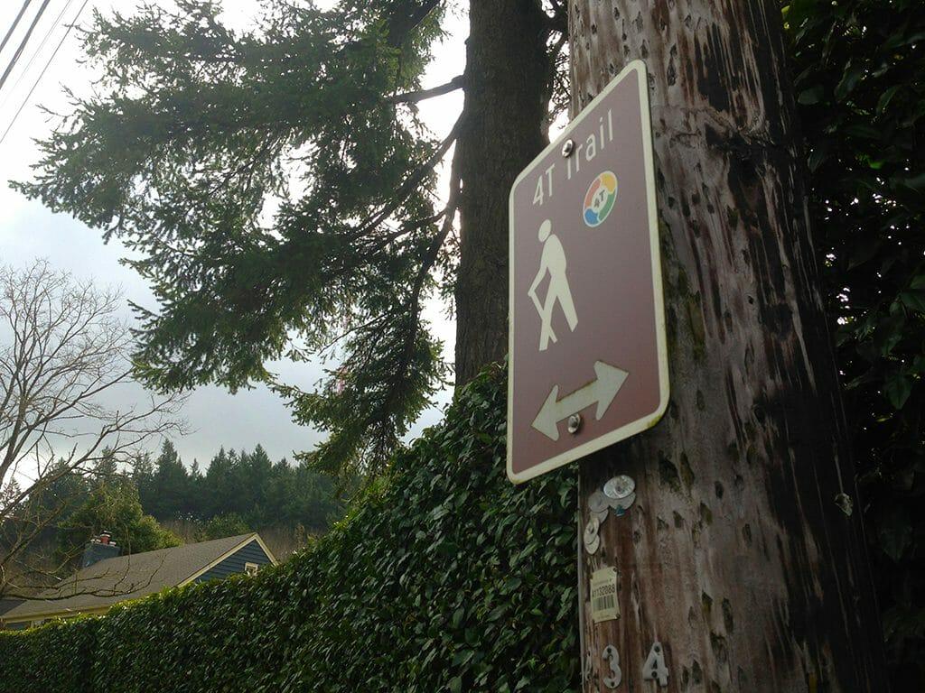 Portland 4T signs through neighborhoods