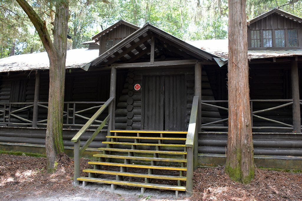 CCC built lodge at OLeno