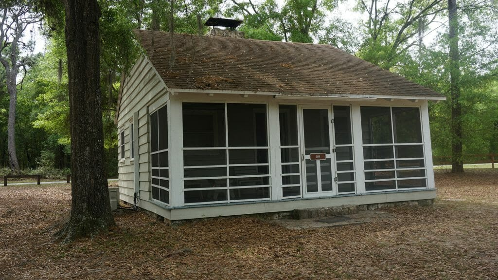 CCC cabin at Gold Head Branch