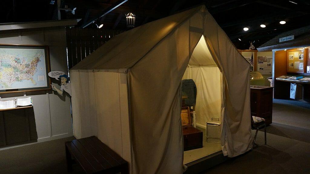 Replica CCC tent