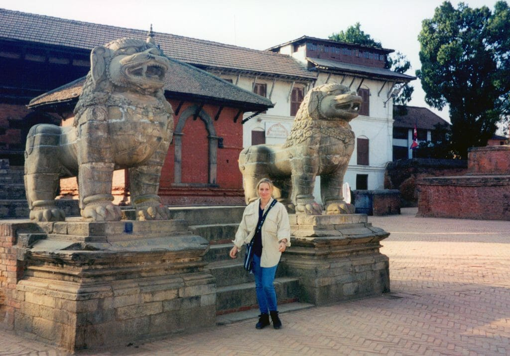 Bhaktapur lions gate