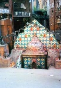 Bhaktapur altar