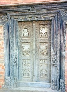 Bhaktapur carved door
