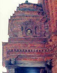 Bhaktapur golden mask