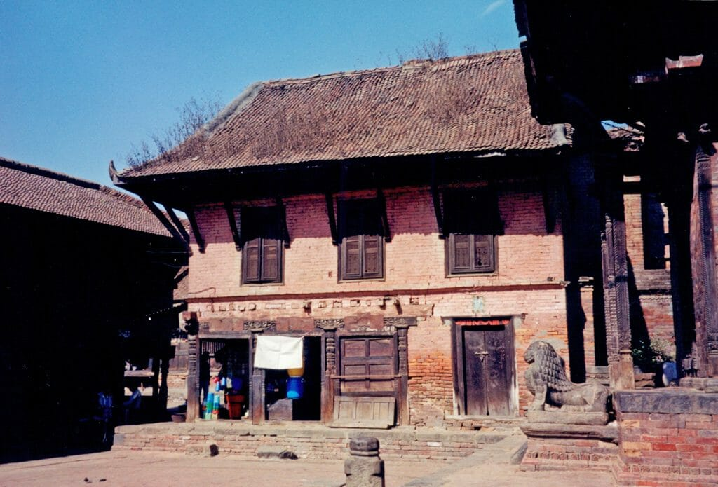 Bhaktapur house carvings