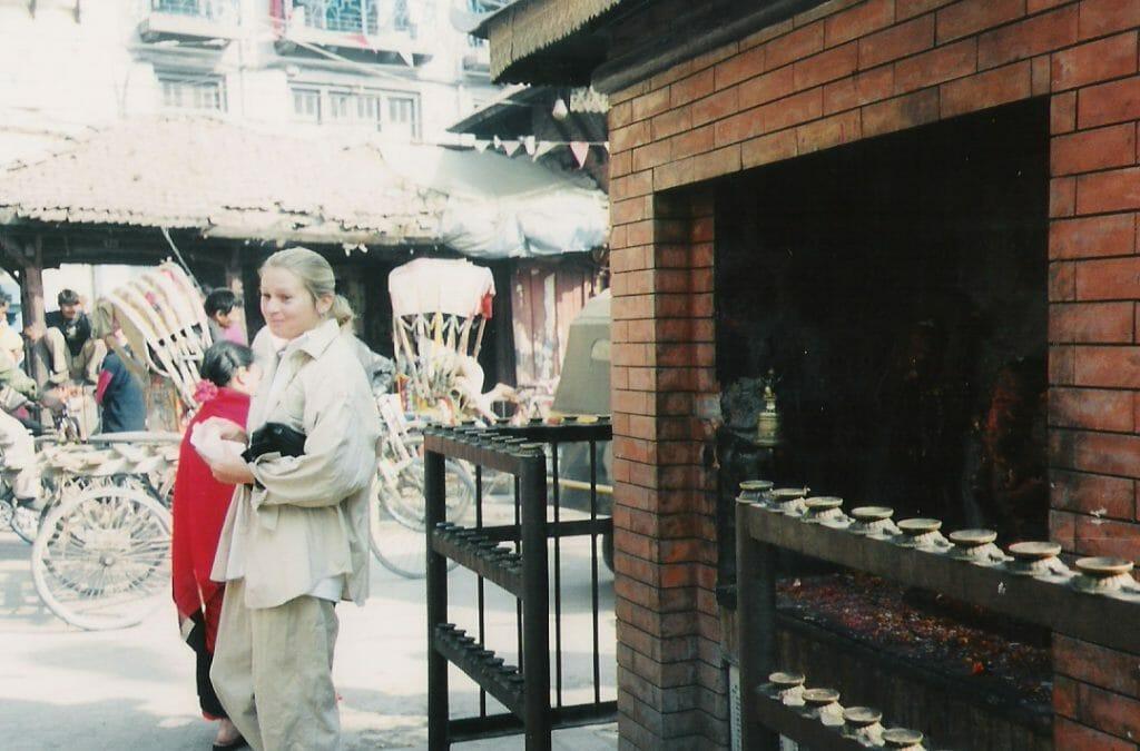 Sally in Kathmandu