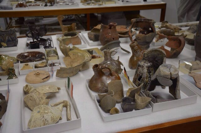 Archaelogical finds by country Jamestowne