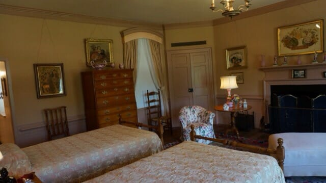 Bedroom at Bassett Hall