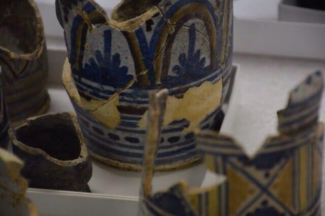 Cups from Holland at Jamestowne