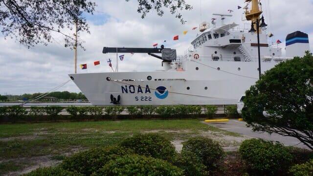 NOAA in port