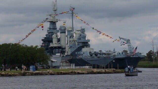 The Battleship North Carolina