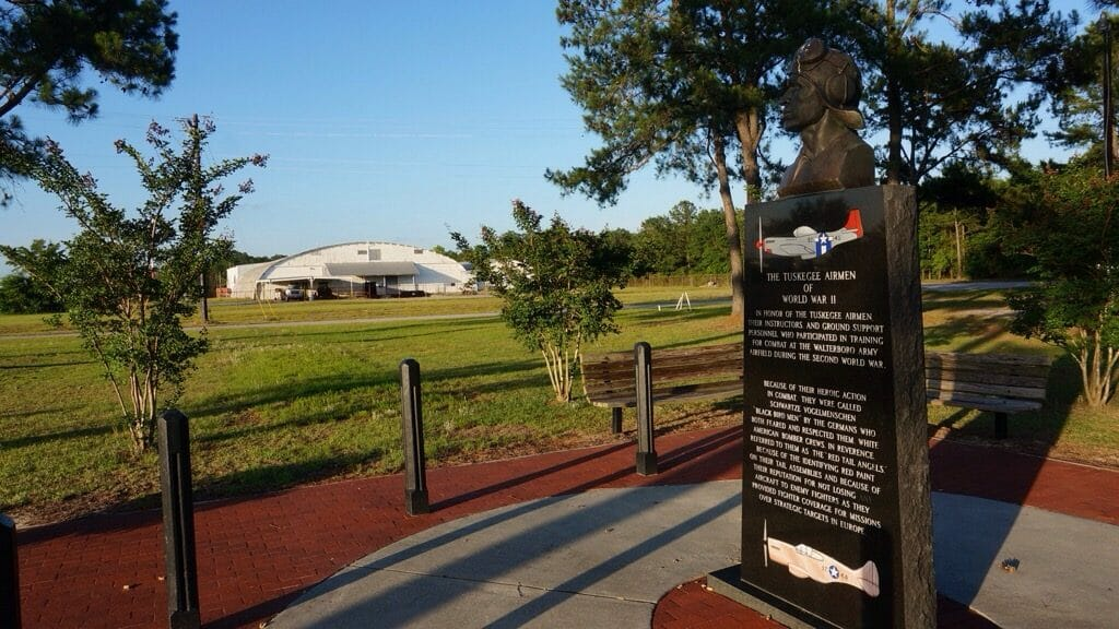 Tuskegee Airmen Memorial at Walterboro