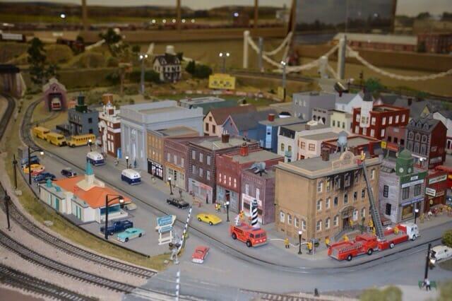 Wilmington Railroad Museum model railroad