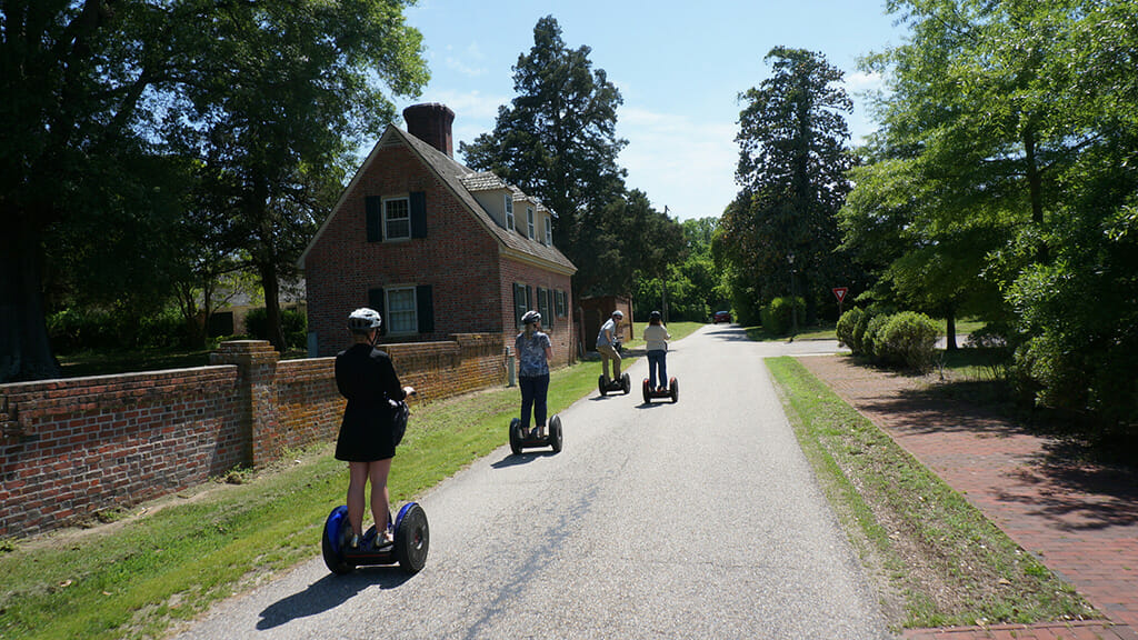 Yorktown historic district by Segway