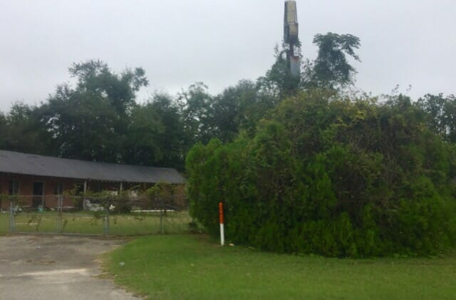 Allendale ruined motel