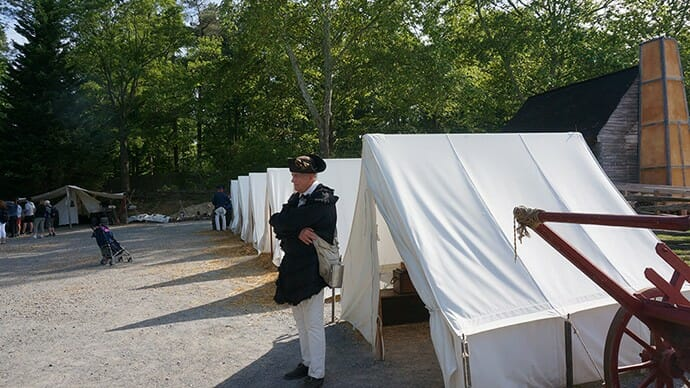 Encampment at the American Revolution Museum