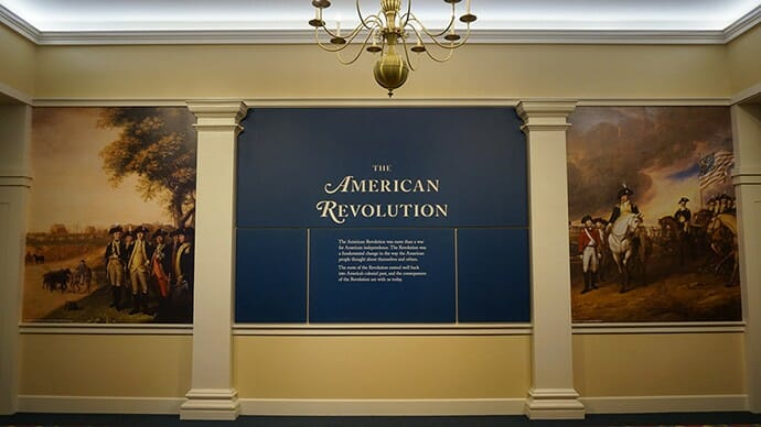 Inside the new American Revolution Museum