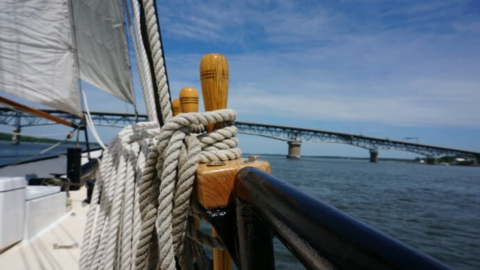 Sailing on the York River