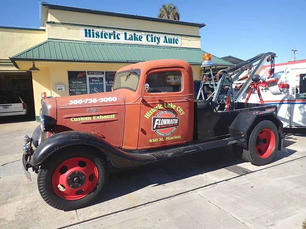Historic Lake City Auto tow truck
