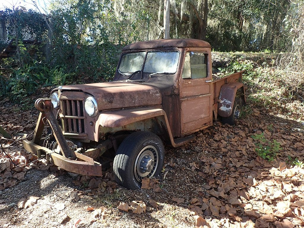 A Willys pickup