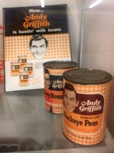 Andy Griffith product endorsements