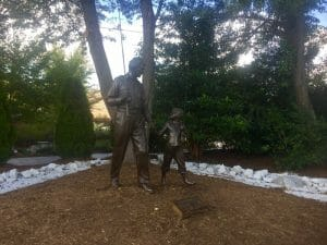 Andy and Opie statue