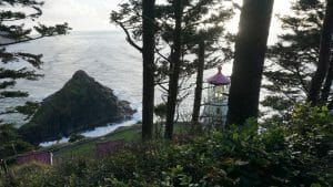 Heceta Head from the Oregon Coast Trail