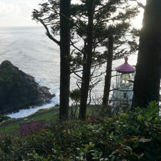 Sunset on the Oregon Coast Trail