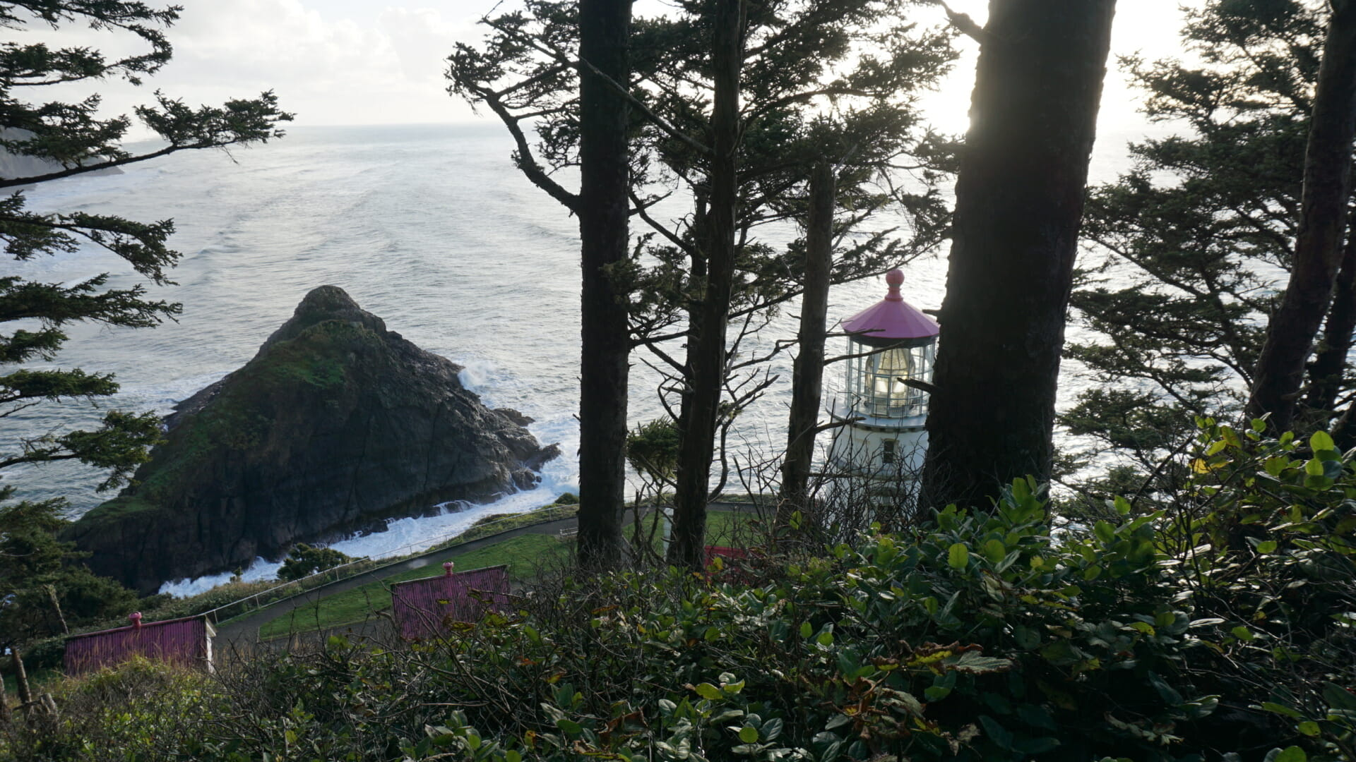 Heceta Head from the Oregon Coast Trail