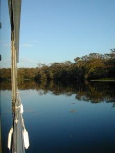 St. Johns River houseboat