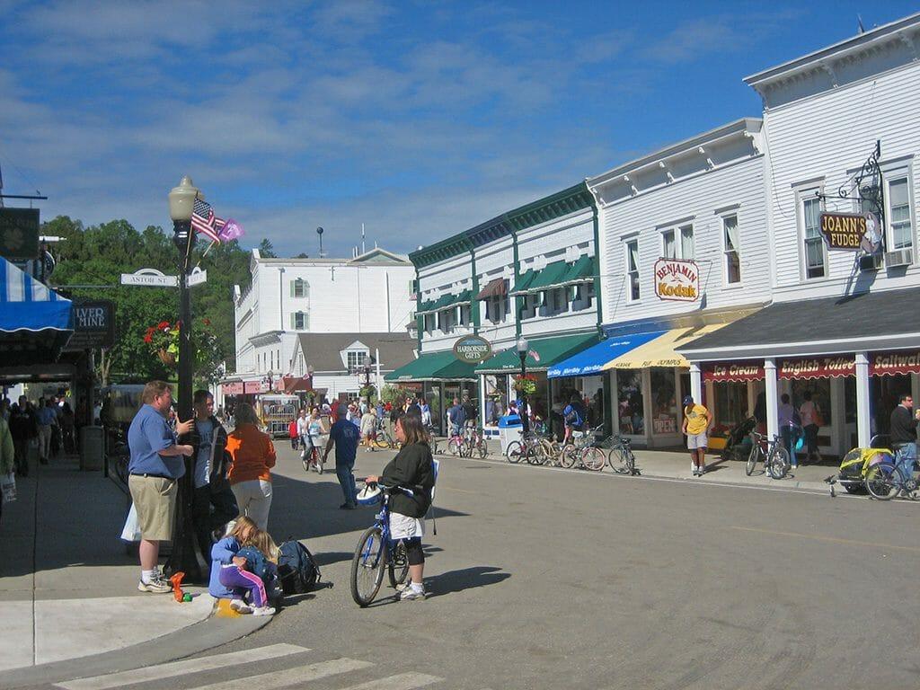 Downtown Mackinac Island