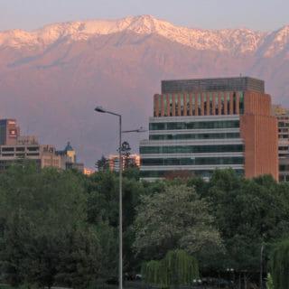 Arrival in Santiago